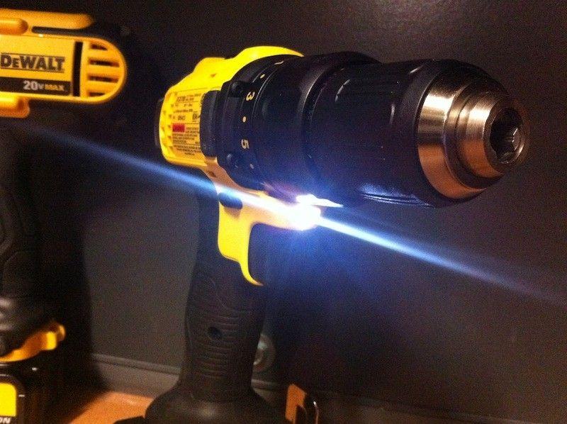 انواع دریل با چراغ قوه LED