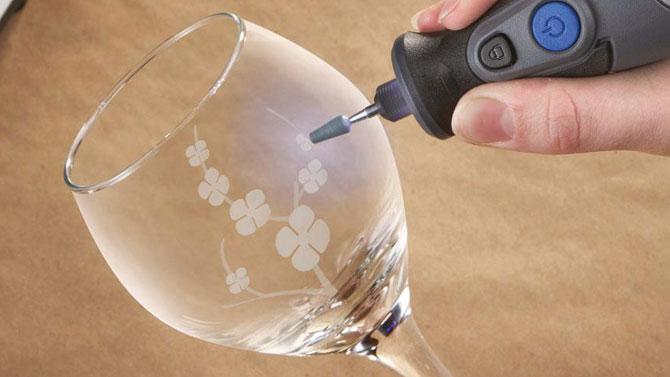 دیزاین شیشه با فرز مینیاتوری