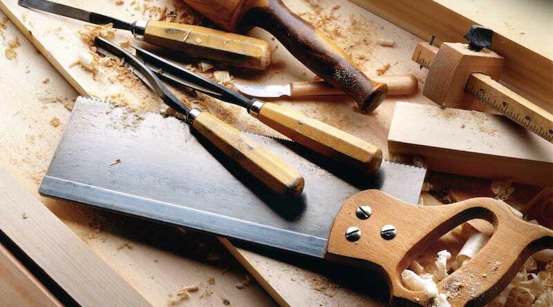 ابزار دستی برای نجاری