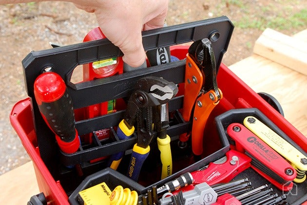 محافظت از ابزار در جعبه ابزار