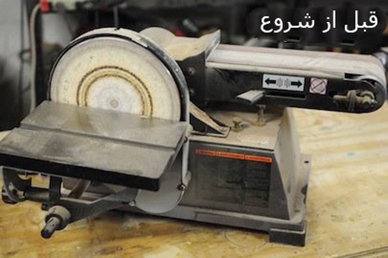 نظافت و نگهداری از ابزار برقی